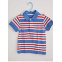 Blusa Polo Tommy Listras - 3 anos - Tommy Hilfiger