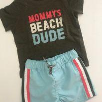 Conjunto Carters Mommy Beach Dude - 6 meses - Carter`s