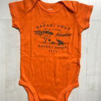 Body Safari Laranja Carters - 9 meses - Carter`s