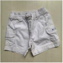 Bermuda Carters Off White - 9 meses - Carter`s