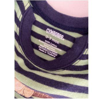 Blusa Gymboree Listras - 0 a 3 meses - Gymboree