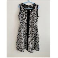 Vestido Preto e Branco - 7 anos - Monteau Girl- EUA