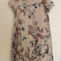 Vestido Pássaros Zara - 9 anos - Zara