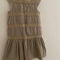 Vestido bege EPK - 8 anos - EPK