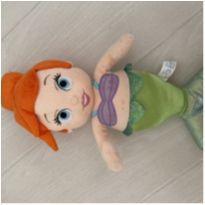 Boneca Ariel Sereia Pelúcia Disney -  - Disney