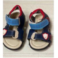 Sandalinha Velcro Azul - 18 - Baby Club