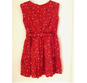 Vestido Vermelho Estrelinhas GAP - 10 anos - GAP