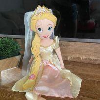 Boneca Pelúcia Rapunze Noiva Disney -  - Disney