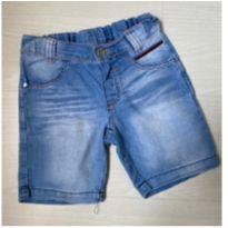 Bermudinha Jeans Alphabeto - 2 anos - Alphabeto