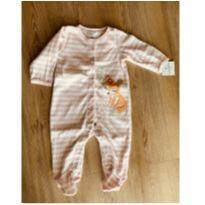 Macacão Fleece Carters Raposinha - 9 meses - Carter`s