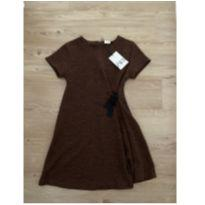 Vestido marrom Zara - 11 anos - Zara