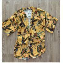 Conjunto kimono e short - 12 anos - Marca não registrada