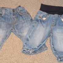 Jeans é jeans - 3 a 6 meses - Zara Baby e H&M