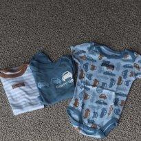 trio Calvin Klein azul - 0 a 3 meses - Calvin Klein