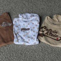 trio calvin klein bege - 0 a 3 meses - Calvin Klein