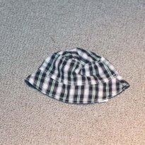 chapéu xadrez - 3 a 6 meses - Minimimo