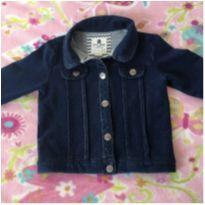 Jaquetinha Jeans com cotton - 6 a 9 meses - Baby Club
