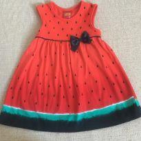 Vestidinho Melancia - 12 a 18 meses - Kyly
