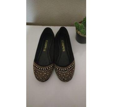 Sapatilha co Strass - 31 - Costes