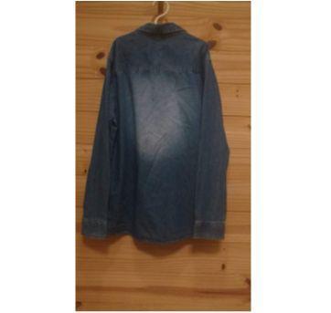 Camisa Jeans Fuzarka Unissex - 12 anos - Fuzarka