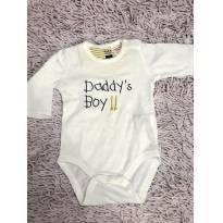 Body Zara 0-1 mês - 0 a 3 meses - Zara Baby