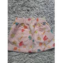 Mini saia rosa tam 3 - 3 anos - art Kids