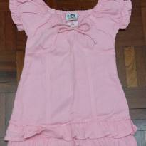 Lindo vestido rosa. - 4 anos - Kidstok