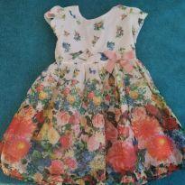 Lindo Vestido 1+1 Florido - 3 anos - 1+1