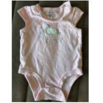 Body Rosa Carters - 3 meses - carter`s, baby gap, zara
