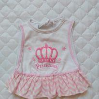 Babador/regatinha - princesa -  - Ed baby