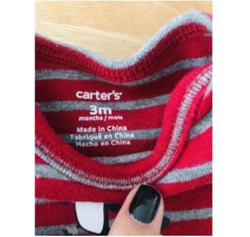 Kit body's Carter's - 3 meses - Carter`s