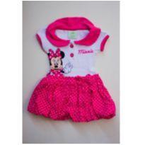 Vestidinho Minnie Disney Baby - 0 a 3 meses - Disney baby