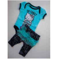 Conjunto Hello kit - 0 a 3 meses - Hello  Kitty