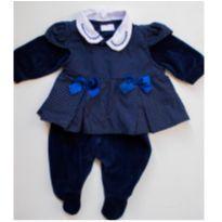Macacão de Plush com vestidinho - Recém Nascido - yoyo Baby