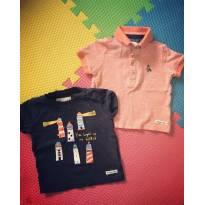 Kit camisetas - 9 a 12 meses - Outros