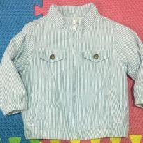 Jaqueta azul e branca - 18 a 24 meses - Gymboree