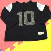Camiseta azul - 12 a 18 meses - Baby Gap