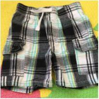 Short xadrez - 18 meses - Kids Headquarters