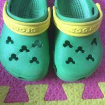 Crocs verde e amarelo - 22 - Crocs