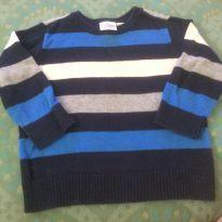 Suéter listrado - 18 a 24 meses - Place