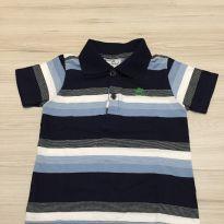Camisa gola polo - 12 a 18 meses - Up Baby