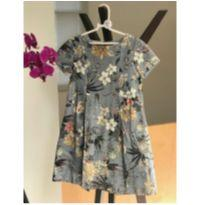 Vestido floral estilo oriental - 9 anos - Zara