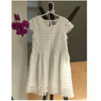 Vestido Guipir Off White