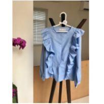 Camisa de Babados Zara
