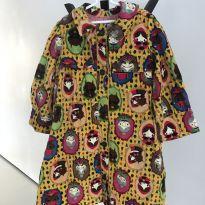 Trench Coat Chapeuzinho Vermelho Fábula - 10 anos - Fábula