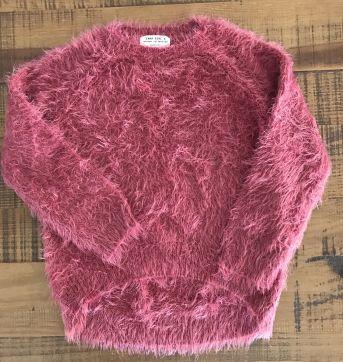 Blusa peludinha Zara - 8 anos - Zara