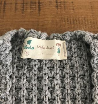 Colete tricô Fábula - 8 anos - Fábula