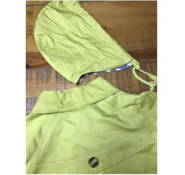 Trench Coat pistache curto - 12 anos - Não informada