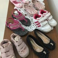 Lote calçados c avarias TAM do 22 a 26