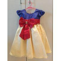Vestido Branca de Neve - 2 anos - Menina Bonita